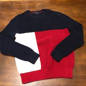 Tommy Hilfiger Color-block Sweater - S